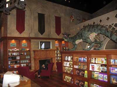 bookshelv
