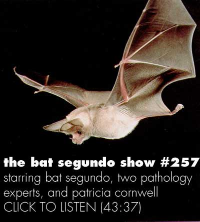The Bat Segundo Show: Patricia Cornwell