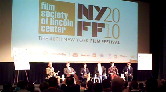 NYFF: The Social Network Press Conference