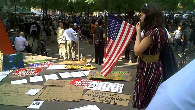 Occupy Wall Street: Nine Conversations and a Protest Song