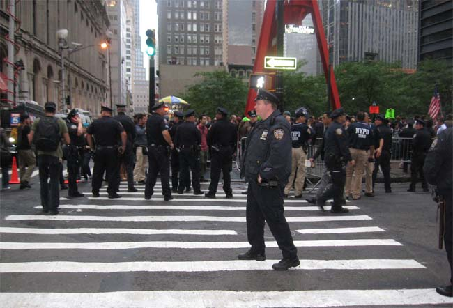 Occupy Wall Street: The Morning They Didn&#8217;t Clean the Park