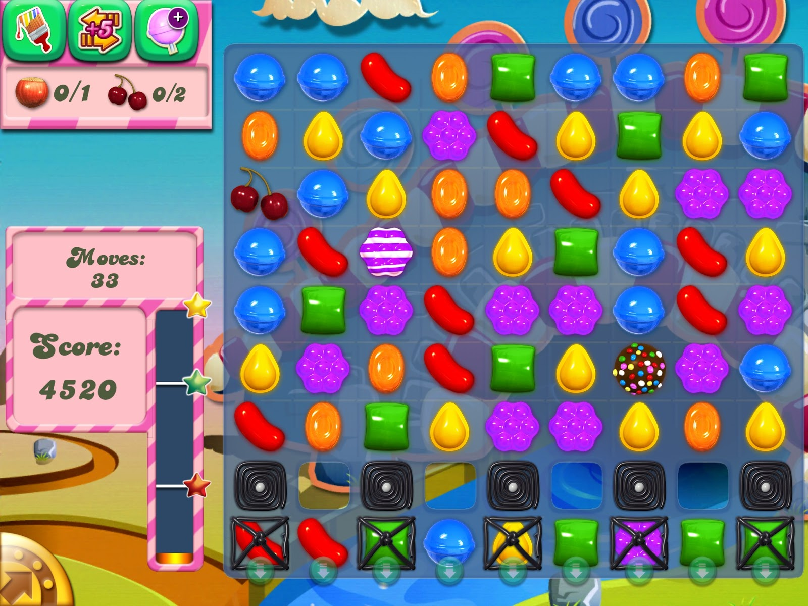 Candy Crush casual game for Android Phone